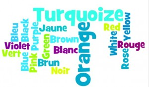 Colours- in French and English By: kaileypro11